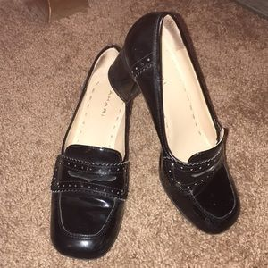 Tahari Shoes - Black Penny Loafers